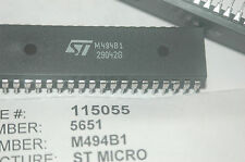 ST MICRO M494B1 40-Pin Plastic Dip Single Chip Tunning System IC New Quantity-1