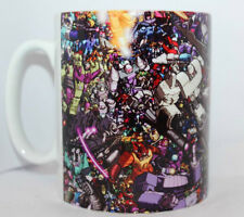 Custom transformers megatron vs optimus prime fan novelty mug cup gift