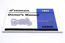 New Owners Manual Book CB900C CUSTOM CB900 1982 OEM Honda  #N19