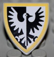 LeGo Castle Triangular Yellow Black Falcon Shield NEW