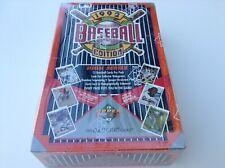 1992 Upper Deck HIGH SERIES Baseball card Factory Sealed box of 36 packs