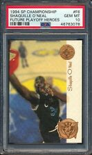 46763078 1994 SP Championship Future Playoff Heroes Shaquille O'Neal PSA 10 HOF