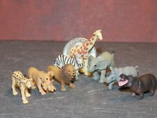 Dollhouse Miniature Safari Animals 8 pcs 1:48 quarter scale K74 Dollys Gallery