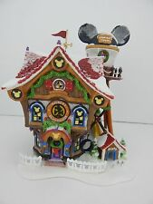 Dept 56 Mickey's North Pole Holiday House #56759 New in Box