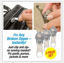 Upgraded TV Slider Repair Kit Instant Zips Quick Fix A Zipper Replacement Zipper