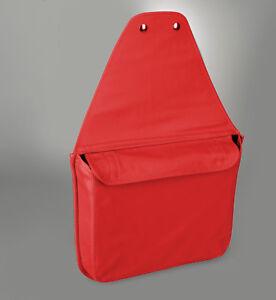 1997-2004 Corvette C5 Torch Red Custom Leather Storage Travel Bag 628027950