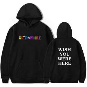 Travis Astroworld Scott Hoodie Sweatshirts Men Women Hooded Pullover Unisex AU