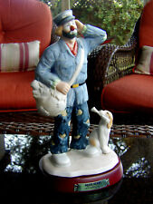 """Flambo Emmett Kelly Jr """"The Mailman"""" The Professional Series Hand Signed"""