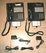 2 AT&T Four-Line Business Intercom Speakerphone Office Telephones, Model 954