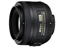 Lichtstarkes Portrait Objektiv Nikon AF S DX 35/1.8G für D7500 D7200 NEUWARE