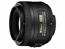 Portrait Objektiv Nikon AF S DX 35/1.8G für Nikon D500, D7200 u.v.a.m., NEUWARE
