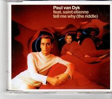 (FM209) Paul Van Dyk, Tell Me Why (The Riddle) - 2000 CD