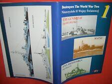 BS Profile Morskie Destroyers 1, Zerstörer USS GENDREAU & MATSU & HMS BRISSENDEN