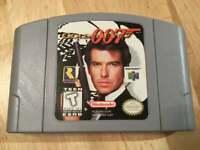 For N64 Console US Version GOLDENEYE 007 Nintendo 64 Video Game Card Cartridge