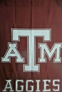 "Wholesale Lot: -10 Texas A & M University Aggies 29"" x41"" Large Flags $5 each"