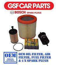 Service Kit Oil Air & Fuel Filters & 4 Spark Plugs For Citroen Berlingo 1.1 1.4