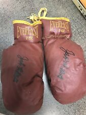 signed Autograph Jake Lamotta Vintage Boxing Gloves Everlast