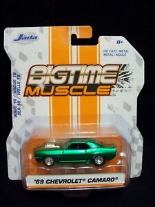Jada Toys Big Time Muscle 1969 Chevy Camaro.