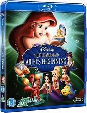 Little Mermaid Part 3 Ariels Beginning Blu ray Brand New Movie UK Film Release x