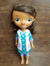 """Disney Just Play 14"""" Doc McStuffins Doll Toy Doctor no shoes"""