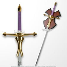 "41.5"" Princess Zelda Female Sword Purple Handle Anime Video Game Replica Cosplay"