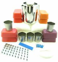 Big votive candle making kit. 3Kg makes up to 50 candles ~ Jug and thermometer