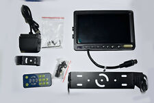 "VAN TRUCK Rear Viev  Reversing Camera 7"" LCD Monitor Remote control KIT"