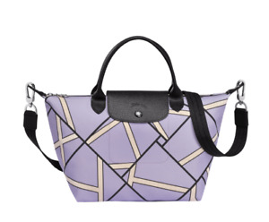 ON HAND Authentic Longchamp Le Pliage Geo 2018 Lilac- Small
