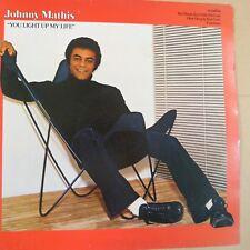 vinyl LP JOHNNY MATHIS you light up my life, 1978, CBS 86055