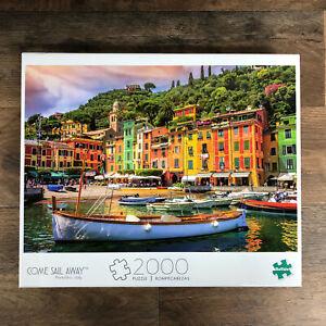 Come Sail Away Portofino, Italy 2000 Piece Jigsaw Puzzle by Buffalo Games New