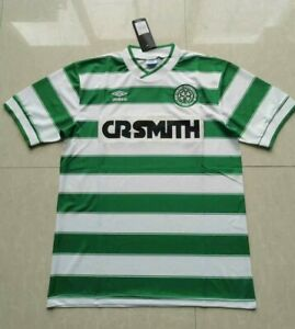 FC Celtic Home Retro Shirt 85-86