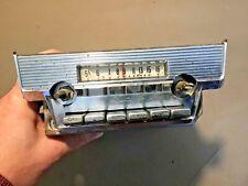 1960 Ford Thunderbird Radio With dash bezel Original Used part # 04MS FoMoCo 59
