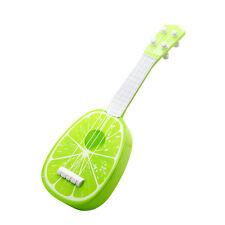 Children's Kids Guitar ukulele Fruit Acoustic Musical Toys Instrument Music_GG Lime