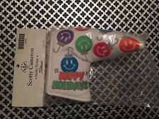 Scotty Cameron 2011 Happy Holidays Smiley Face Ornaments Bulbs Putter Cover BNIB