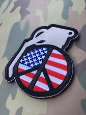 USA Peace Grenade Patch
