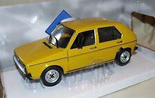 """VW Golf I CL  """" Yellow Riyad """" Solido 1:18"""