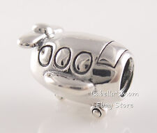 Authentic PANDORA Silver AIRPLANE Vacation TRIP Travel Charm 790561 NEW w POUCH!