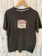 BUDWEISER Beer Jones & Mitchell T Shirt Gray Size XL W2