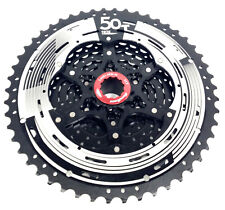 SunRace CS-MZ90 12 Speed Mountain Bike Cassette 11-50, Black, Shimano compatible