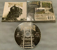 Railroad Tycoon II 2 PC Computer CD PopTop Software Video Game COMPLETE in Case!