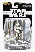 Clone Trooper 442nd Siege Battalion 057 Star Wars Saga 2006 Holo Rebel Trooper!