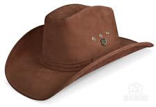Cowboy Hat Western Leather Texan Black Brown White Zalupe Mens Hats Handmade
