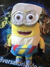 """Universal Orlando Despicable Me 3 Tourist Dave Minion 12"""" Plush Brand New"""