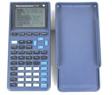 Texas Instruments Ti-81 Graphing Calculator Blue Tested and Works Back to School