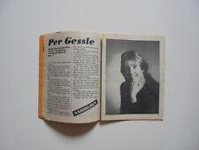 Per Gessle Gyllene Tider 10 pages clippings cuttings Sweden 1980s Secret Service
