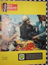 revue ACTION AUTO 1958 12 H DE  REIMS + G.P / PETROLE / CHARADE