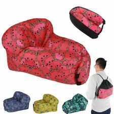 Portable Inflatable Lounger Air Sofa, Chair, Hammock, Couch - Watermelon