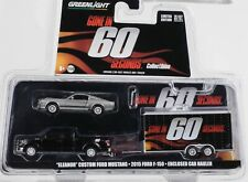 Eleanor Ford Mustang F150 Anhänger Gone in 60 seconds Movie Set 1:64 Greenlight