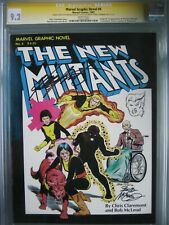 Marvel Graphic Novel #4 CGC 9.2 SS Signed & Sketch Bob McLeod & Chris Claremont