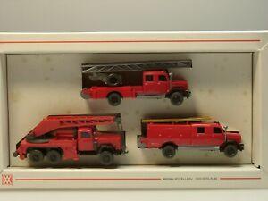 Wiking Feuerwehr Magirus VETERANEN - Packung  - 2600 - 1:87